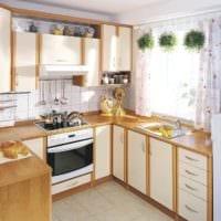 дизайн кухонного гарнитура идеи фото