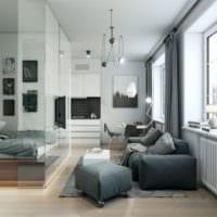 дизайн квартиры 33 м2 фото