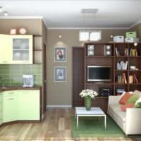 дизайн квартиры 33 м2 фото планировка