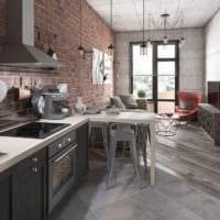 дизайн квартиры 33 м2 фото проекта