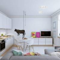 дизайн квартиры 33 м2 идеи проекта