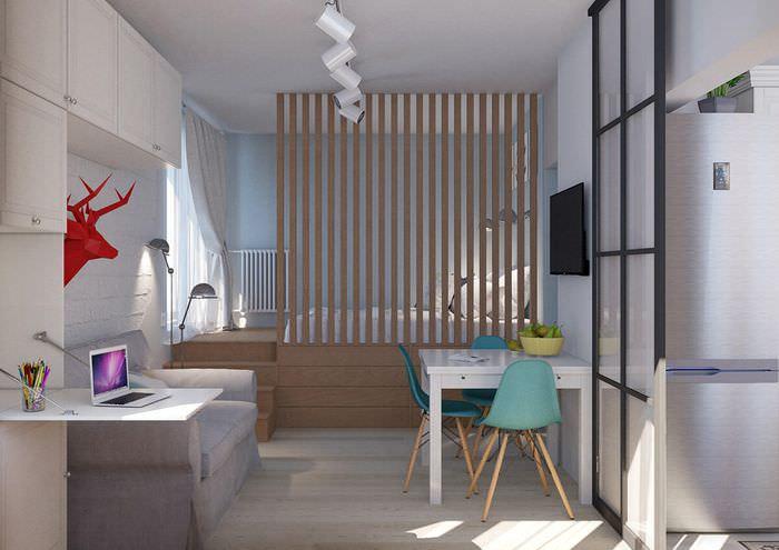 дизайн квартиры 36 кв м