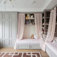 дизайн маленькой детской комнаты фото интерьера