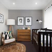 дизайн маленькой детской комнаты идеи