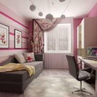 дизайн маленькой детской комнаты идеи фото