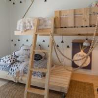 дизайн маленькой детской комнаты планировка фото