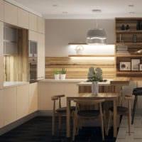 дизайн маленькой кухни фото планировка