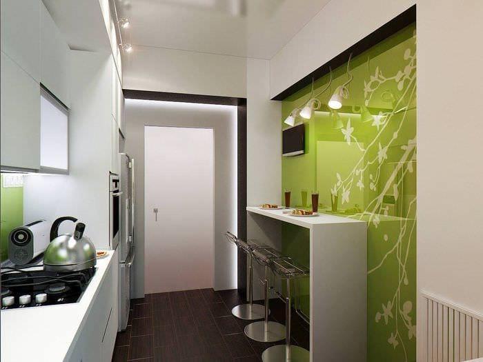 освещение в маленькой кухне