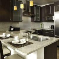 дизайн маленькой кухни планировка фото