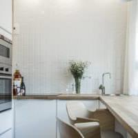 дизайн маленькой кухни фото интерьер