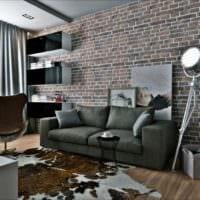 дизайн однокомнатной квартиры 33 м2 фото интерьера