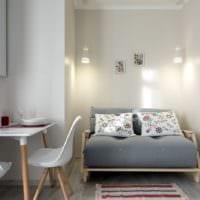 дизайн однокомнатной квартиры 36 м2
