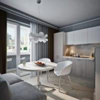 дизайн однокомнатной квартиры 45 кв метров