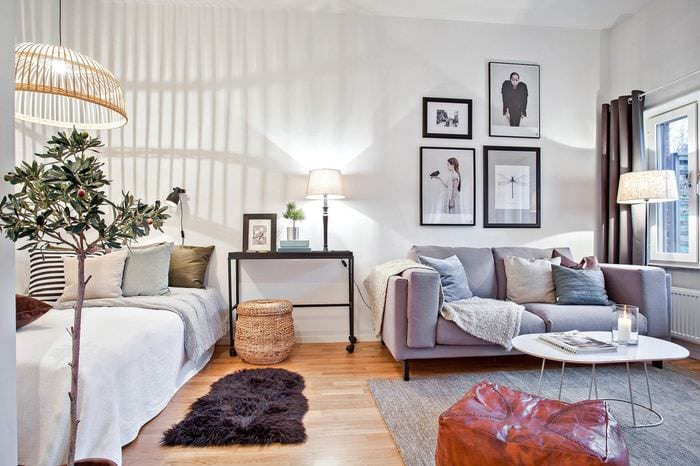 свет в однокомнатной квартире