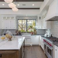 дизайн плитки на кухне фото идеи