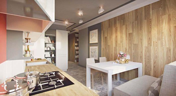 Дизайн квартир 1 комнатных квартир 43 кв.м