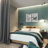 дизайн студии 36 кв м со спальней идеи