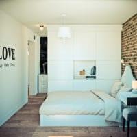 дизайн угловой однокомнатной квартиры 45 кв м идеи