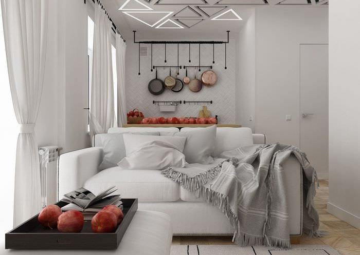 проект квартиры 30 кв м