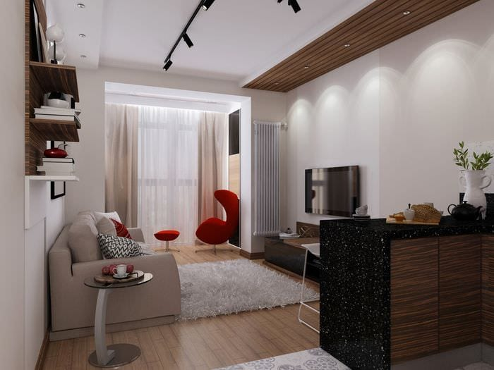 дизайн квартир 30 кв м