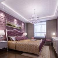 дизайн потолка спальни фото