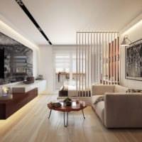 интерьер однокомнатной квартиры 45 кв м идеи
