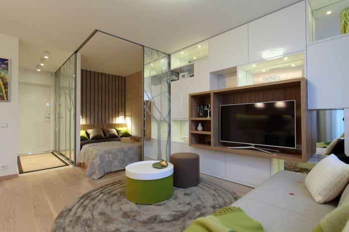 Как из квартиры студии сделать однокомнатную квартиру 267