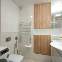 интерьер однокомнатной квартиры со спальней 36 кв м ванная