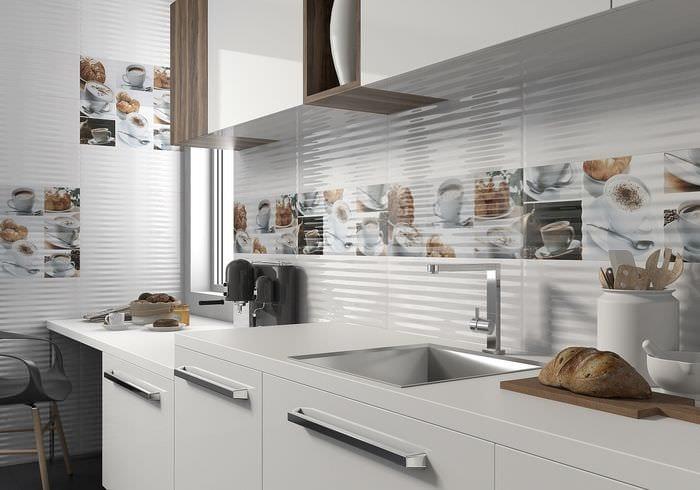кафель на кухне