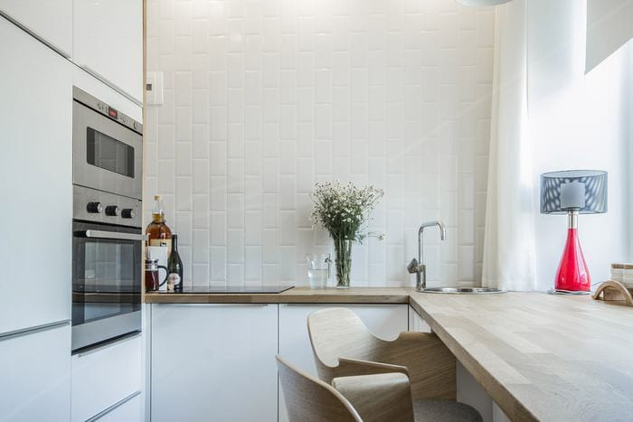 плитка на стенах в кухне