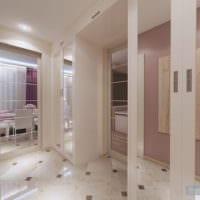 коридор в однокомнатной квартире