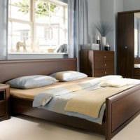 дизайн маленькой спальни расположение мебели