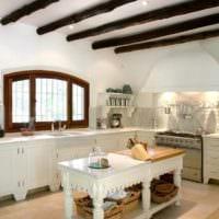 кухня без верхних шкафов планировка