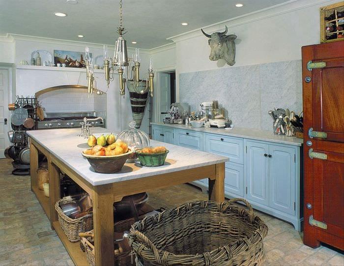 Стиль прованс на кухне своими руками фото