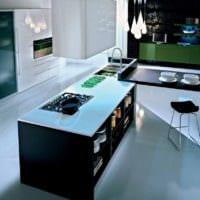 кухня без верхних шкафов планировка идеи