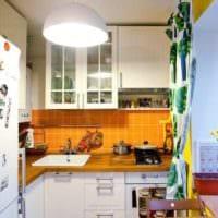 кухня в хрущевке угловая фото