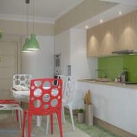 кухня в однокомнатной квартире идеи