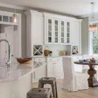 кухня белый дизайн