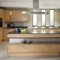 кухня в бежевом цвете идеи