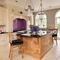 кухня в стиле кантри декор фото