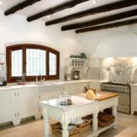 кухня в стиле кантри фото дизайн