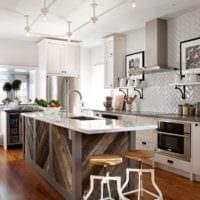 кухня в стиле кантри идеи декора