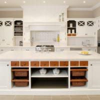 кухня в стиле кантри проект