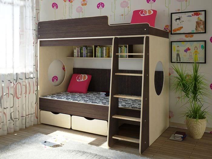 ламинат и ковры в детской
