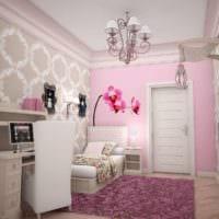 маленькая детская комната дизайн фото