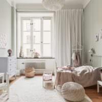 маленькая детская комната дизайн проект