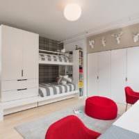 маленькая детская комната дизайн проект фото