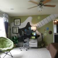 маленькая детская комната фото интерьера
