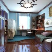 маленькая детская комната планировка фото