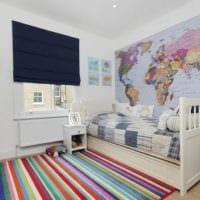 маленькая детская комната варианты дизайн